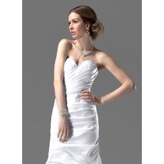 fuera del hombro vestidos de novia blancos