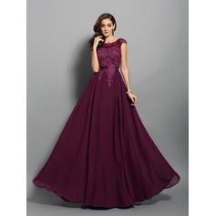 Col rond Forme Princesse Sans manches Magnifique Robes de bal (018212195)
