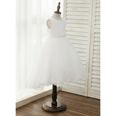 casual country flower girl dresses