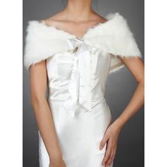 Wrap Wedding Faux Fur Sleeveless Other Colors Wraps