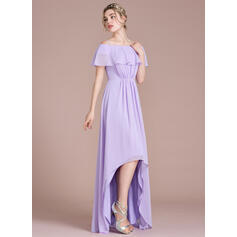 purple long sleeve bridesmaid dresses
