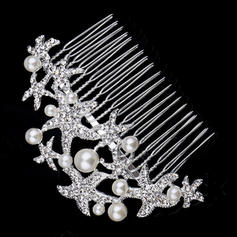 "Combs & Barrettes Wedding/Special Occasion/Party/Carnival Rhinestone/Alloy/Imitation Pearls 4.72""(Approx.12cm) 2.36""(Approx.6cm) Headpieces"