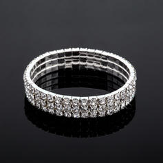 Bracelets Alloy Rhinestone Ladies' Tennis Wedding & Party Jewelry