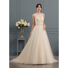 robes de mariée licou haut
