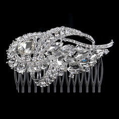 "Combs & Barrettes Alloy 3.54""(Approx.9cm) 2.36""(Approx.6cm) Rhinestone Headpieces"