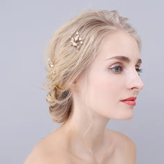 "Hairpins Wedding/Special Occasion/Casual/Outdoor/Party Alloy 1.97""(Approx.5cm) 3.15""(Approx.8cm) Headpieces"