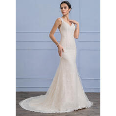 sleek lace wedding dresses australia