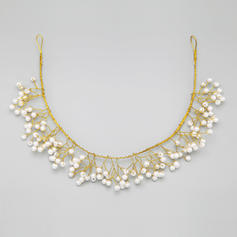 "Headbands Wedding/Special Occasion/Party Alloy/Imitation Pearls 14.96""(Approx.38cm) 2.76""(Approx.7cm) Headpieces"
