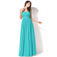 Ruffle Sweetheart With Chiffon Bridesmaid Dresses (007063003)