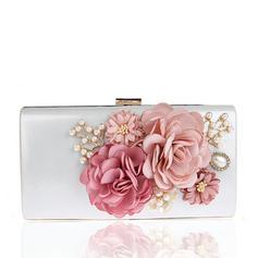 Elegant Satin Koblinger/Wristletter/Posetasker/Mode håndtasker/makeup Tasker/Luksus Koblinger