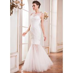 3/4 sleeve wedding dresses plus size