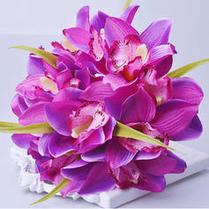 "Bridal Bouquets/Bridesmaid Bouquets Hand-tied Wedding/Party/Casual Artificial Silk 7.87""(Approx.20cm) Wedding Flowers"