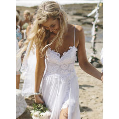 Fashion A-Line/Princess With Chiffon Wedding Dresses (002144581)