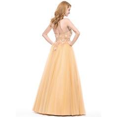 green prom dresses long