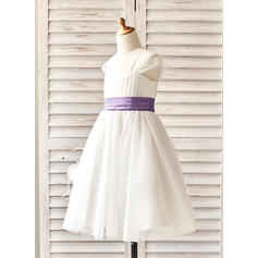plum colored flower girl dresses