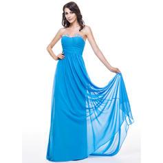 Gasa Sin tirantes Novio Corte A/Princesa Vestidos de baile de promoción (018051145)