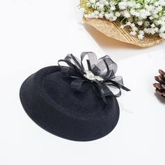 Señoras' Hermoso Hilado de la red Bombín / cloché Sombrero