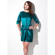 Corto/Mini Nuevo de 2019 Vestido tubo Charmeuse Baile de promoción (016213080)