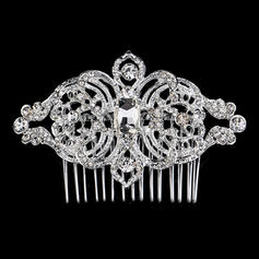 "Combs & Barrettes Wedding/Special Occasion/Party Rhinestone/Alloy 3.15""(Approx.8cm) 2.36""(Approx.6cm) Headpieces"