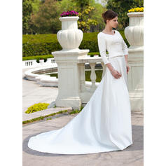 caen los vestidos de novia de encaje