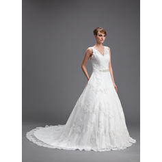 cheap high collar wedding dresses