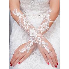 Tulle Ladies' Gloves Bridal Gloves Fingerless 35cm(Approx.13.78inch) Gloves