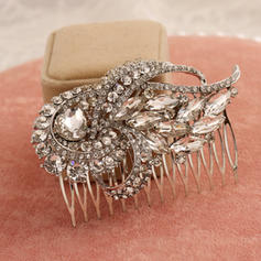 "Combs & Barrettes Alloy 2.95""(Approx.7.5cm) 2.17""(Approx.5.5cm) Eye-catching Headpieces"