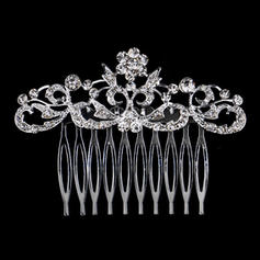 "Combs & Barrettes Wedding/Party Rhinestone/Alloy 3.15""(Approx.8cm) 2.36""(Approx.6cm) Headpieces"