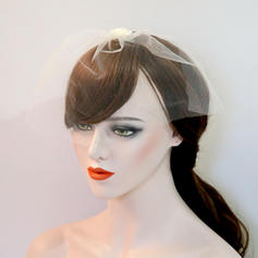 """Forehead Jewelry/Hats Wedding/Special Occasion/Party Imitation Pearls/Net Yarn 8.66""""(Approx.22cm) 7.09""""(Approx.18cm) Headpieces"""