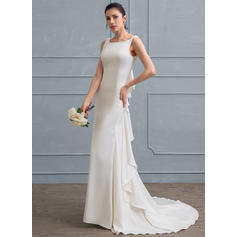 satin wedding dresses uk