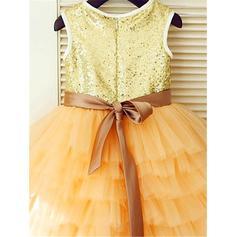 knee length flower girl dresses