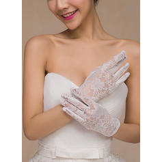 Lace Bridal Gloves Fingertips 22cm(Approx.8.66inch) 18cm(Approx.7.09inch) Gloves