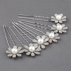 "Hairpins Wedding/Special Occasion Zircon 0.98""(Approx.2.5cm) 2.95""(Approx.7.5cm) Headpieces"