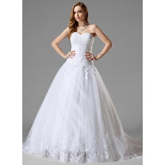 Tulle Sweetheart Sleeveless - Beautiful Wedding Dresses