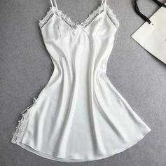 Spets Feminin/Mode Nattkläder