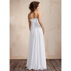 simple ankle length wedding dresses