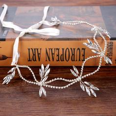 Ladies Elegant Rhinestone/Alloy Headbands With Rhinestone (Sold in single piece)