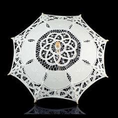 Ombrelli Ombrellini da sposa Donna Matrimonio/Casuale Manico dritto Ombrelli