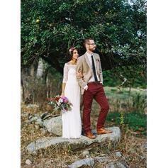 lila bröllopsklänningar sexiga