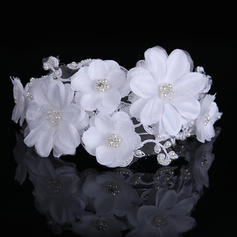 "Headbands Wedding/Party Silk Flower 13.78""(Approx.35cm) 3.94""(Approx.10cm) Headpieces"
