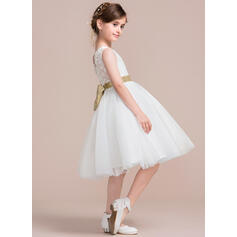 black satin flower girl dresses