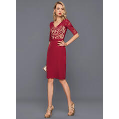 formal cocktail dresses with sleeves
