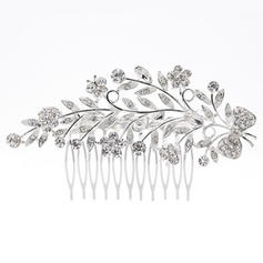 "Combs & Barrettes Wedding/Special Occasion Rhinestone/Alloy 4.33""(Approx.11cm) 2.37""(Approx.6cm) Headpieces"