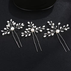 Hairpins Wedding/Party Rhinestone/Alloy Eye-catching Ladies Headpieces