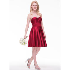 tafetta bridesmaid dresses