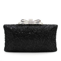 Clutches Wedding/Ceremony & Party Beading Snap Closure/Kiss lock closure Elegant Clutches & Evening Bags