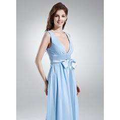 azul rosa vestidos de dama de honor