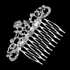 "Combs & Barrettes Alloy 3.15""(Approx.8cm) 2.36""(Approx.6cm) Rhinestone Headpieces"