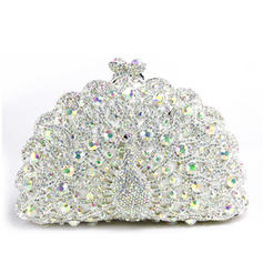 Clutches Wedding/Ceremony & Party Alloy Clip Closure Dreamlike Clutches & Evening Bags