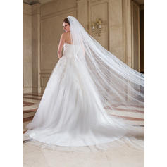 1950's style wedding dresses tea length